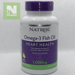 Омега-3 рыбий жир капс 1000мг N90