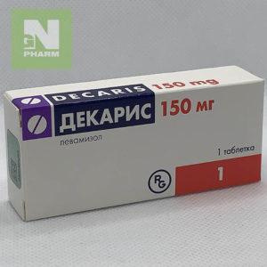 Декарис таб 150мг N1