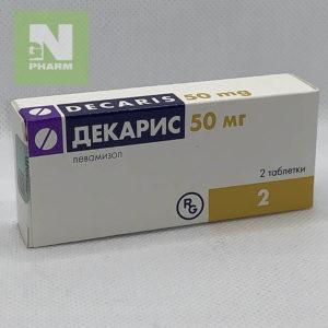 Декарис таб 50мг N2