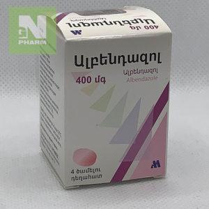 Альбендазол жев таб 400мг N4