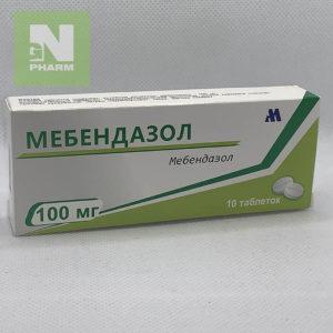 Мебендазол таб 100мг N10