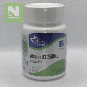 Витамин D3 2500IU таб N60