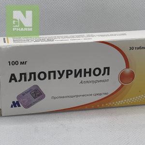 Аллопуринол таб 100мг N30