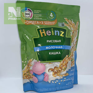 Heinz Каша мол Рисовая с Омега-3 с 4мес 200г