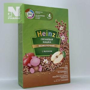 Heinz Каша б/мол Гречневая с яблоками с 4мес 200г