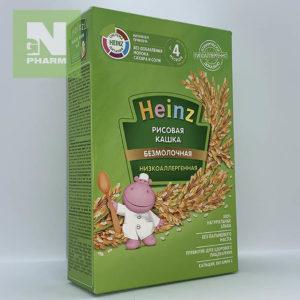 Heinz Каша б/мол низкоаллерг рисовая с 4мес 160г