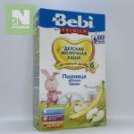 Беби Премиум Каша мол Пшеница Яблоко Банан с 6мес 250г
