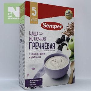 Семпер м/к гречневая с черносливом и яблоком с 5мес 200г