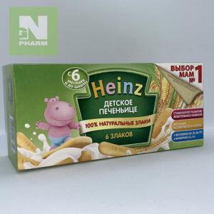 Heinz Печенье 6 злаков 160г