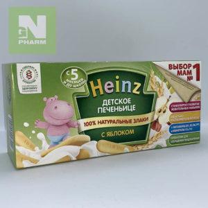 Heinz Печенье с яблоком 160г