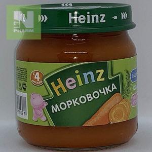 Heinz Пюре Морковочка с 4мес 80г