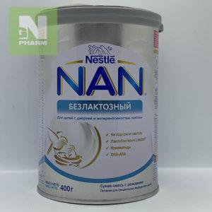 Молочная смесь NAN без лактозы 400г