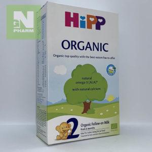 HIPP2 Молочная смесь Organic с 6мес 300г
