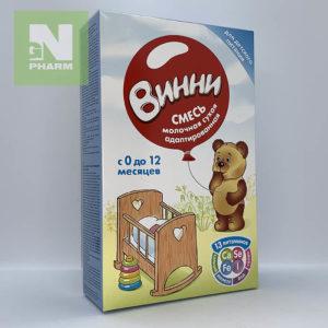 Винни Молочная смесь б/сахара 350г