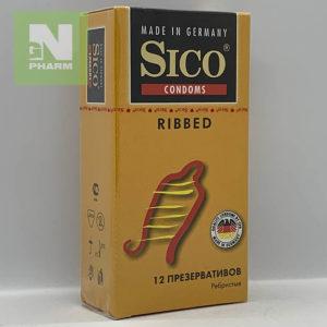 Презерв Sico Ribbed ребристые N12