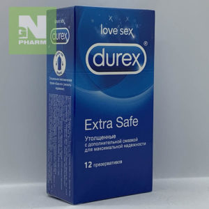 Durex Extra Safe утолщенные N12