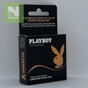 Playboy lubricated ultra-thin N3