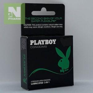 Playboy lubricated 3in1 N3