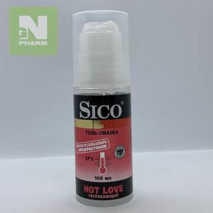 Гель-смазка Sico Согревающий 100мл
