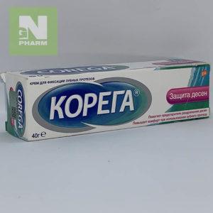 Корега Клей д/фикс зуб протезов Защита десен 40г