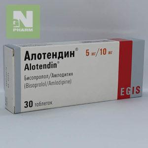 Алотендин таб 5мг/10мг N30