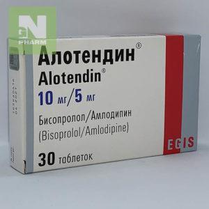 Алотендин таб 10мг/5мг N30