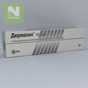 Дермазин крем 1% 50г