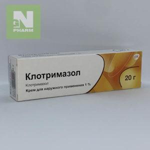 Клотримазол крем 1% 20г
