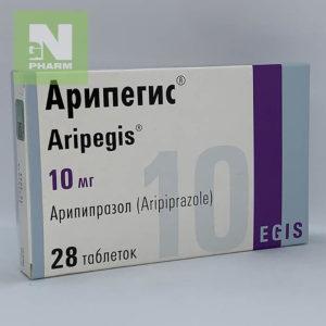 Арипегис таб 10мг N28