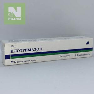 Клотримазол ваг крем 2% 50г