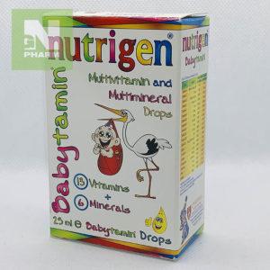 Нутрижен Бебитамин капли 0-12мес 25мл