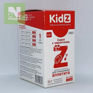 Кидз сироп с карнитином 2.5мл N20