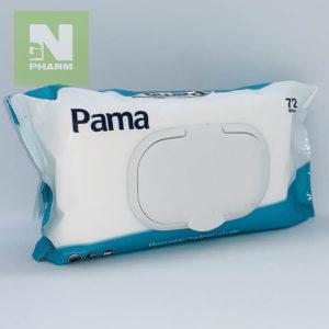 Салфетки влажные антибактериальный Pama N72