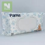Салфетки влажные детские Pama N72