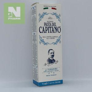 Зубная паста CAPITANO Fumatori 75мл