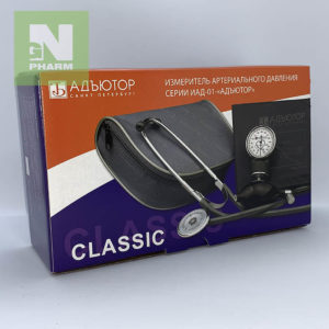 Тонометр мех со стетоскопом Адъютор