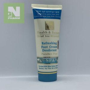 Крем для ног Health & Beauty освежающий 100мл