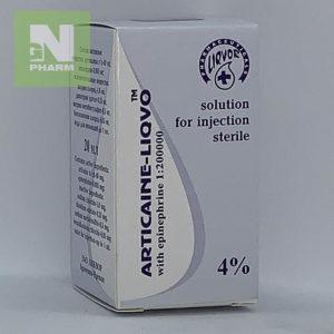 Артикаин с эпинефрином 4% 20мл (1:200000)