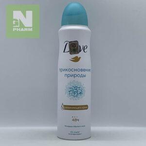 Дезодорант Dove прикосновение природы д/ж 150мл