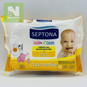Влажные салфетки SEPTONA chamomile N20