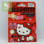 Мультивитамины пастилки Hello Kitty 10 witamin i cynk N10