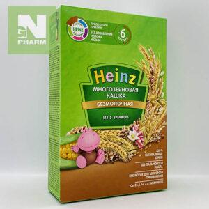 Heinz Каша б/мол многозерновая 5 злаков с 6мес 200г