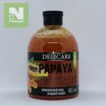 Delicare Гель-Пилинг для душа с экстрактом папайи 485мл