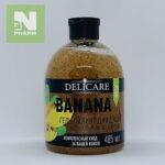 Delicare Гель-Пилинг для душа с экстрактом банана 485мл