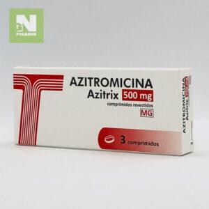 Азитромицин (Азитрикс) таб 500мг N3