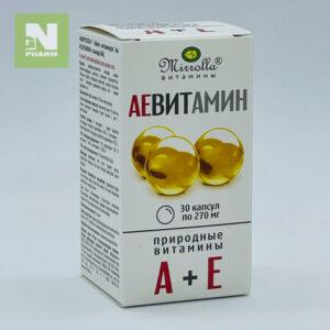 Аевитамин капс 270мг N30
